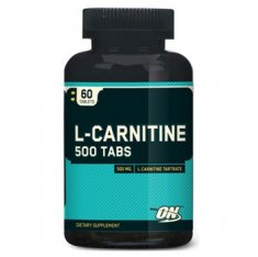 L-Carnitine 500 Optimum Nutrition (60 таблеток) L-карнитин