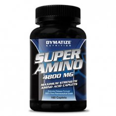 Super Amino 4800 Dymatize Nutrition (160 капсул) аминокислоты
