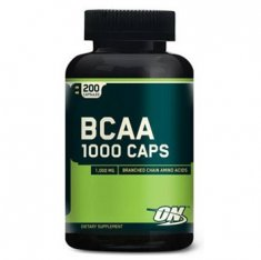 ВСАА 1000 Optimum Nutrition (200 капсул) аминокислоты