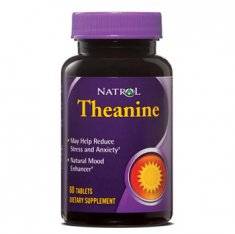 L-Theanine Natrol (60 таблеток) L-тианин