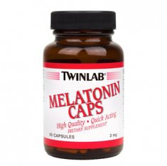 Melatonin Caps Twinlab (60 капсул) мелатонин