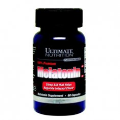Melatonin Premium Ultimate Nutrition (60 капсул) снотворное