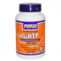 5-HTP Double Strength NOW (120 капсул) нейропротектор