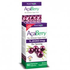 AcaiBerry Extra Strength Natrol (60 капсул) антиоксиданты