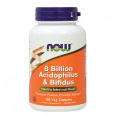 8 Billion Acidophilus & Bifidus NOW (120 капсул) пробиотик