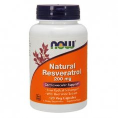 Natural Resveratrol NOW (120 капсул) ресвератрол