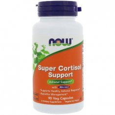 Super Cortisol Support NOW (90 капсул) экстракт коры магнолии