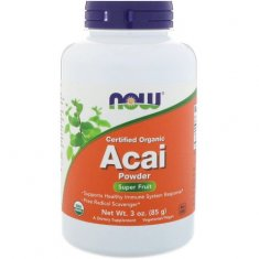 Acai Pure Powder NOW (85 г) ягода асаи