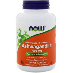 Ashwagandha Extract NOW (180 капсул) экстракт ашвагандха