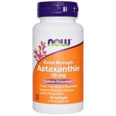 Astaxanthin Extra Strength NOW (60 капсул) астаксантин