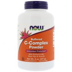 C-Complex Powder NOW (227 г) витамин С