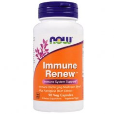 Immune Renew NOW (90 капсул) экстракт астрагала и мицелий грибов