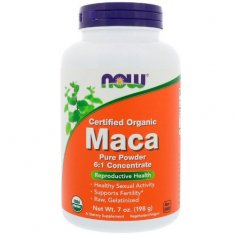 Maca Pure Powder NOW (198 г) мака перуанская экстракт