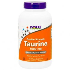 Taurine Double Strength NOW (100 капсул) таурин