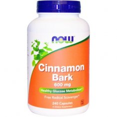 Cinnamon Bark NOW (240 капсул) кора корицы экстракт