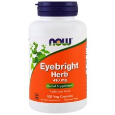 Eyebright Herb NOW (100 капсул) очанка трава