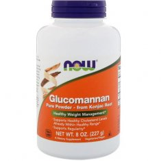Glucomannan Pure Powder NOW (227 г) глюкоманнан