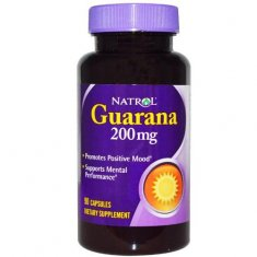 Guarana Natrol (90 капсул) гуарана экстракт