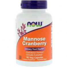 Mannose Cranberry NOW (90 капсул) D-манноза и клюква