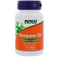 Oregano Oil NOW (90 капсул) масло душицы