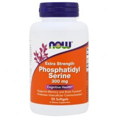 Phosphatidyl Serine Extra Strength NOW (50 капсул) фосфатидилсерин