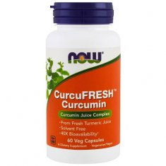 Curcumin CurcuFresh NOW (60 капсул) куркумин