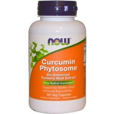 Curcumin Phytosome NOW (60 капсул) фитосома куркумина