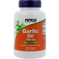 Garlic Oil NOW (250 капсул) чесночное масло