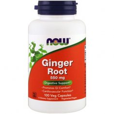 Ginger Root NOW (100 капсул) корень имбиря