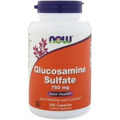 Glucosamine Sulfate NOW (240 капсул) глюкозамин сульфат