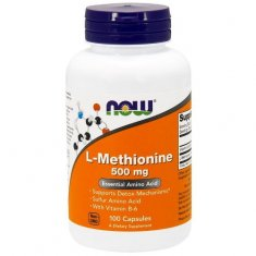 L-Methionine NOW (100 капсул) L-метионин