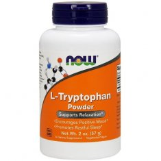L-Tryptophan Powder NOW (57 г) L-триптофан