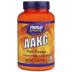 AAKG Pure Powder NOW (198 г) L-аргинин-альфа-кетоглютарат