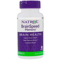 BrainSpeed Memory Natrol (60 таблеток) нейропротектор