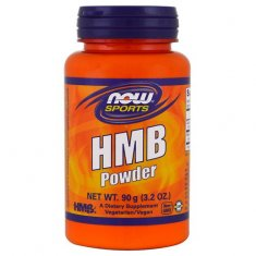 HMB Powder NOW (90 г) гидрокси-метилбутират