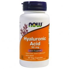 Hyaluronic Acid NOW (60 капсул) гиалуроновая кислота