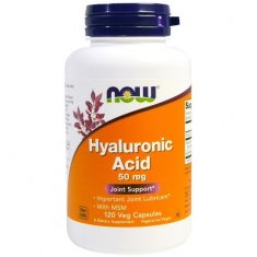 Hyaluronic Acid NOW (120 капсул) гиалуроновая кислота