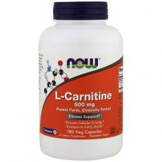 L-Carnitine NOW (180 капсул) L-карнитин