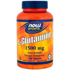 L-Glutamine NOW (180 таблеток) L-глютамин