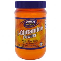 L-Glutamine Powder NOW (454 г) L-глютамин