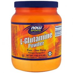 L-Glutamine Powder NOW (1000 г) L-глютамин
