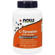 L-Tyrosine Pure Powder NOW (113 г) L-тирозин