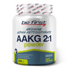 AAKG 2:1 Powder Be First (200 г) аргинин альфа-кетоглутарат