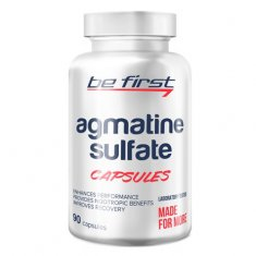 Agmatine Sulfate Capsules Be First (90 капсул) агматин сульфат