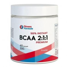 BCAA 2:1:1 Powder Fitness Formula (300 г) БЦАА