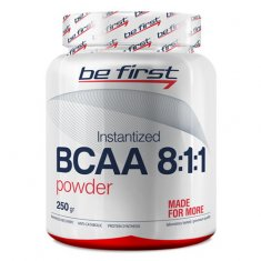 BCAA 8:1:1 Instantized Powder Be First (250 г) БЦАА