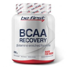 BCAA Recovery Be First (250 г) БЦАА и глютамин