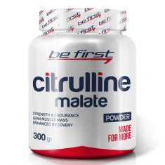 Citrulline Malate Powder Be First (300 г) цитруллин малат