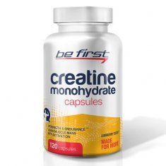 Creatine Monohydrate Capsules Be First (120 капсул) креатин моногидрат