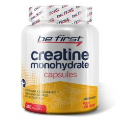 Creatine Monohydrate Capsules Be First (350 капсул) креатин моногидрат